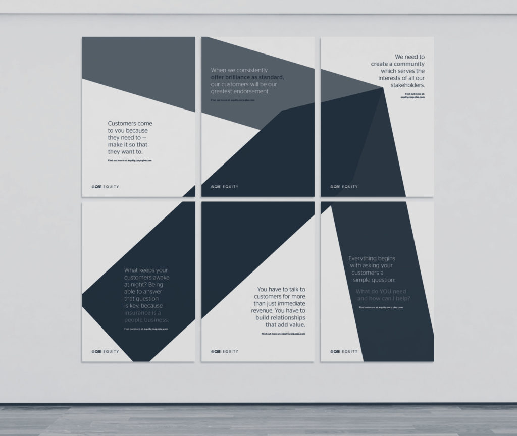 QBE EQUITY posters