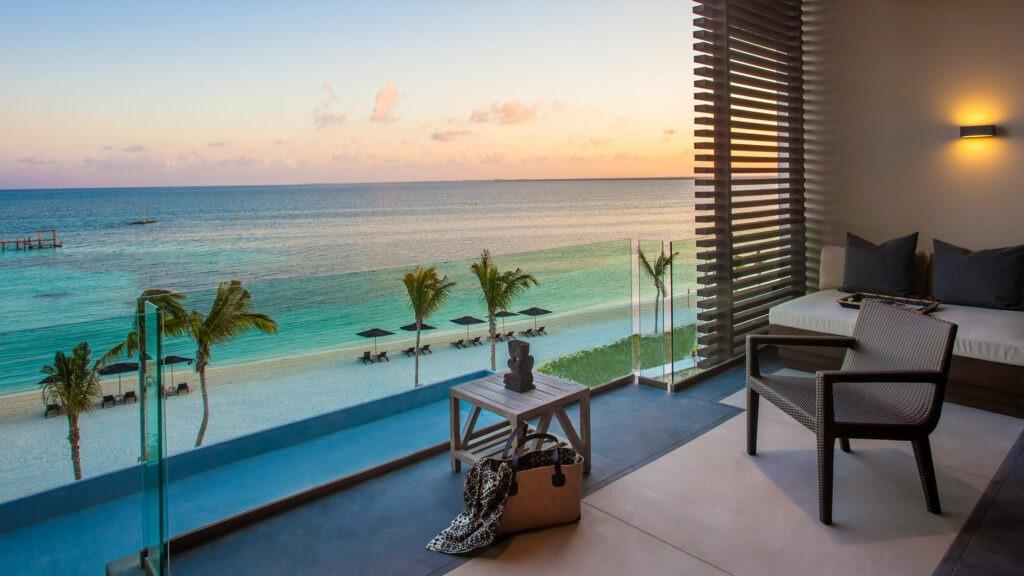 Nizuc Resort & Spa room with an ocean view